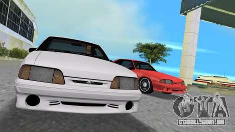 Ford Mustang Cobra 1993 para GTA Vice City