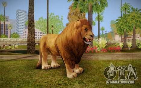 Leão para GTA San Andreas