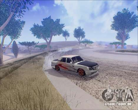 GAZ 31105 Tuneable para vista lateral GTA San Andreas