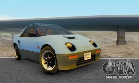 Mazda Autozam AZ-1 para GTA San Andreas