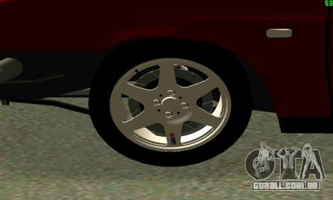 VAZ 2108 Turbo para GTA San Andreas esquerda vista