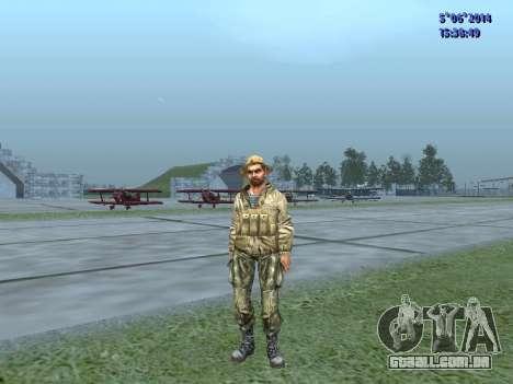 O airborne soldado da URSS para GTA San Andreas terceira tela