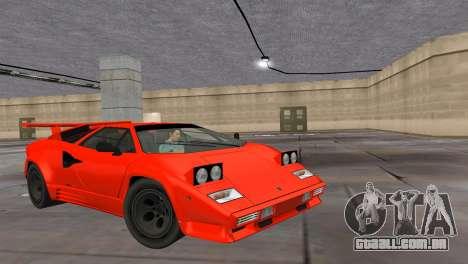 Lamborghini Countach LP5000 Extreme para GTA Vice City