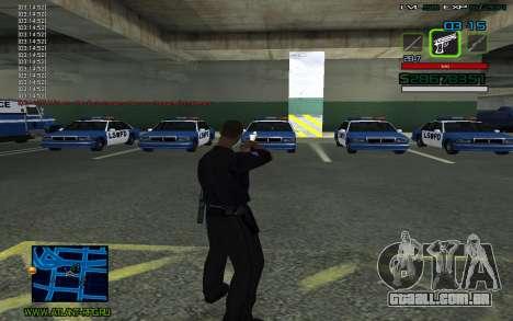 C-HUD by SampHack v.2 para GTA San Andreas segunda tela