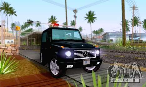 Mercedes-Benz G500 1999 Short para GTA San Andreas vista direita