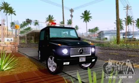 Mercedes-Benz G500 1999 Short para GTA San Andreas vista direita