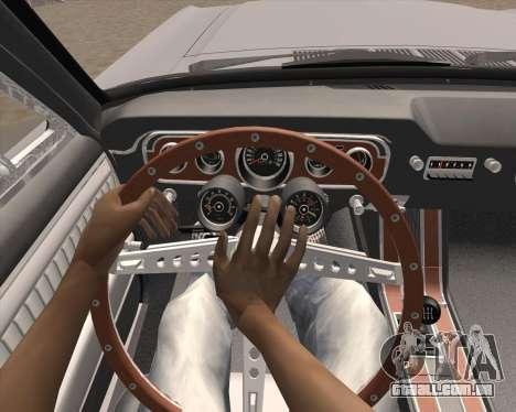 Animação pressionando sinal para GTA San Andreas terceira tela