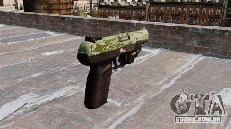 Arma FN Cinco sete LAM Verde Camo para GTA 4 segundo screenshot