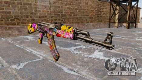 A AK-47 Graffitti para GTA 4