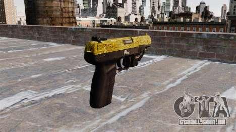 Arma FN Cinco sete de Ouro LAM para GTA 4 segundo screenshot