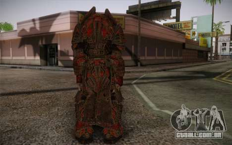Theron Guard Cloth From Gears of War 3 v1 para GTA San Andreas