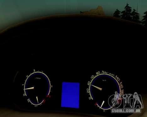 VAZ 2112 Tuneable para GTA San Andreas vista direita