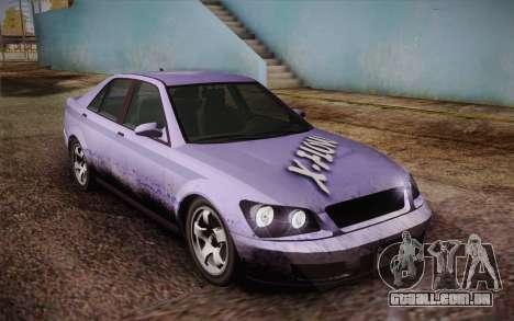 Sultan из GTA 5 para o motor de GTA San Andreas
