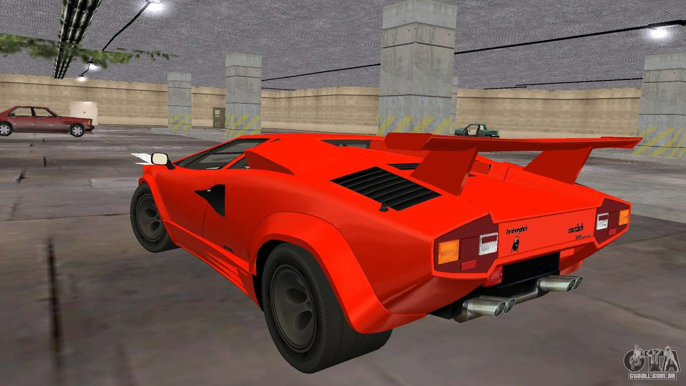 lamborghini countach lp5000 extreme para gta vice city. Black Bedroom Furniture Sets. Home Design Ideas