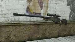 Arctic Warfare Super Magnum L115A1 para GTA San Andreas