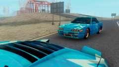 Nissan Silvia S13 Blue Star