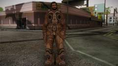 Dom From Gears of War 3 para GTA San Andreas