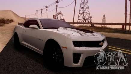 Chevrolet Camaro ZL1 2014 para GTA San Andreas