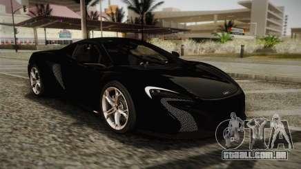 McLaren 650S Spider 2014 para GTA San Andreas