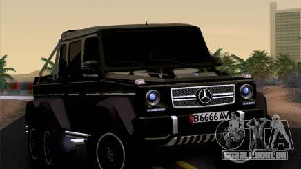 Mercedes-Benz G65 AMG 6X6 para GTA San Andreas