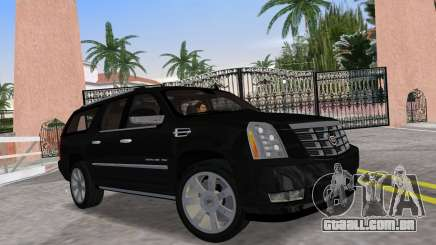 Cadillac Escalade ESV Luxury 2012 para GTA Vice City