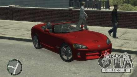 Dodge Viper SRT-10 2003 v2.0 para GTA 4