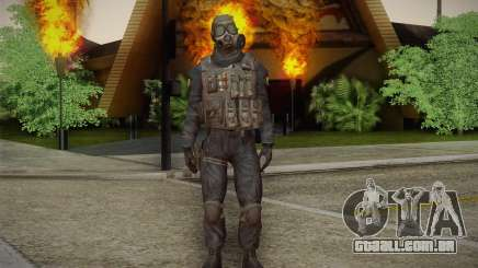S.A.S Gas Mask para GTA San Andreas