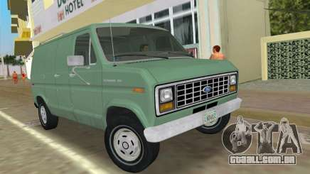 Ford E-150 1983 Short Version Commercial Van para GTA Vice City