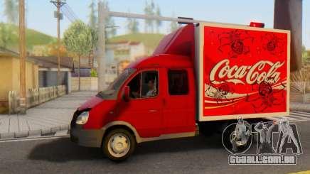 33023 Gazela Coca-Cola para GTA San Andreas
