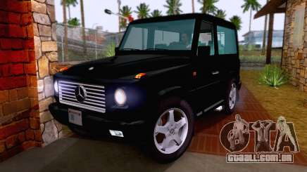 Mercedes-Benz G500 1999 Short para GTA San Andreas