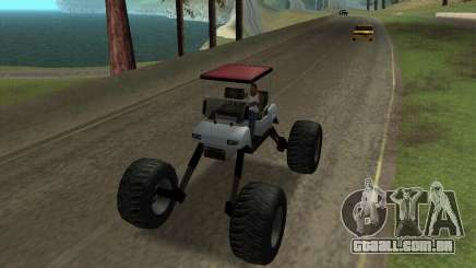 Caddy Monster Truck para GTA San Andreas