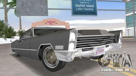 Cadillac DeVille 1967 Lowrider para GTA Vice City