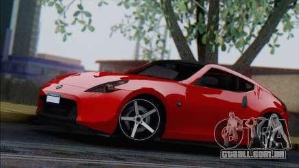Nissan 370Z Vossen para GTA San Andreas