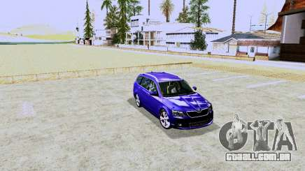 Skoda Octavia A7 Combi para GTA San Andreas