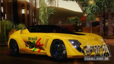 Bertone Mantide World Brasil 2010 para GTA San Andreas