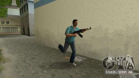 Kalashnikov Tipo 1 para GTA Vice City segunda tela
