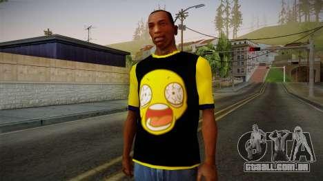 Nirvana Swag Shirt para GTA San Andreas