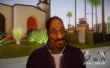 Snoop Dogg Skin para GTA San Andreas terceira tela