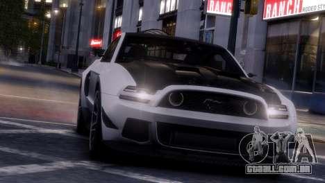 Ford Mustang GT 2014 Custom Kit para GTA 4 interior