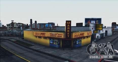 ViSA Beta 1 para GTA San Andreas por diante tela