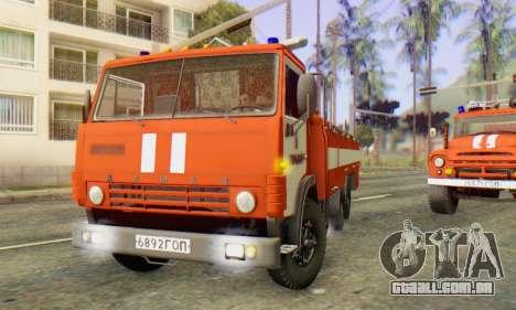 KamAZ 53212 AP-5 [FIV] para GTA San Andreas esquerda vista