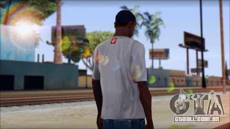 Element T-Shirt para GTA San Andreas segunda tela