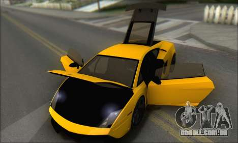 Lamborghini Gallardo LP570 Superleggera para GTA San Andreas