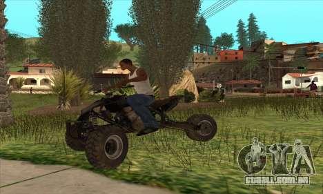 Trike from Ravaged para GTA San Andreas vista direita