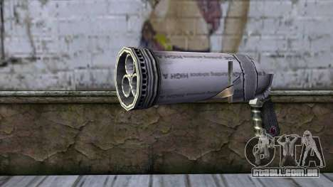 Bottle Gun from Bully Scholarship Edition para GTA San Andreas