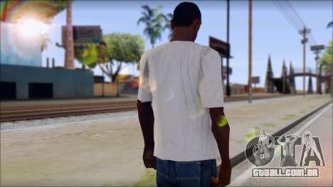 Pink Panther T-Shirt Mod para GTA San Andreas segunda tela