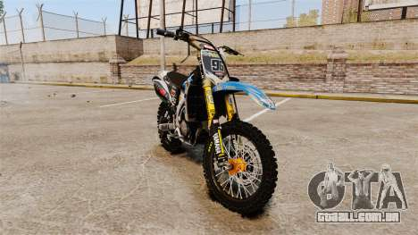 Yamaha YZF-450 v1.4 para GTA 4