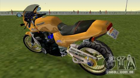 Kawasaki GPZ900R Ninja Tuned para GTA Vice City deixou vista