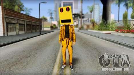 Robot Head LMFAO para GTA San Andreas