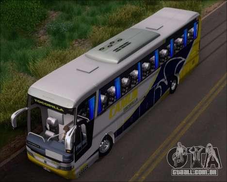 Busscar Vissta Buss LO Mercedes Benz 0-500RS para vista lateral GTA San Andreas
